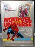MARVEL UNIVERSE Series II Trading Card Box -36 Factory Sealed Packs (1991)