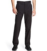 Utility Cotton Rich Active Waistband Thermal Chinos