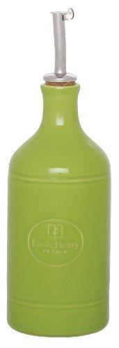 Emile Henry Oil Bottle, Green Apple