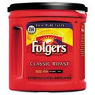 Folgers 00367Ea - Coffee, Classic Roast Regular, Ground, 33.9 Oz. Can