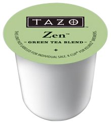 Tazo Tea K-Cup Zen, K-Cup Portion Pack For Keurig K-Cup Brewers, 10- Count (Pack Of 3) front-239950