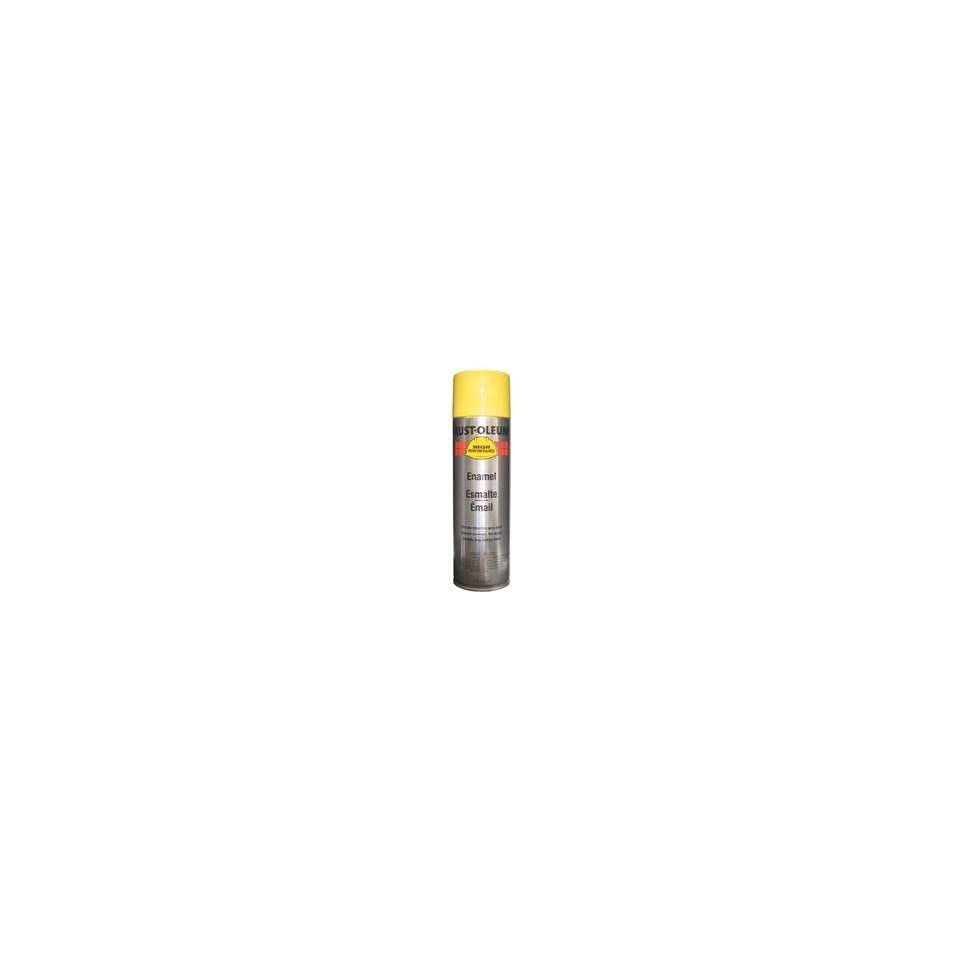 Rust Oleum V2143838 High Performance Professional 14 oz Enamel Gloss Spray Paint (6 Pack), Safety Yellow