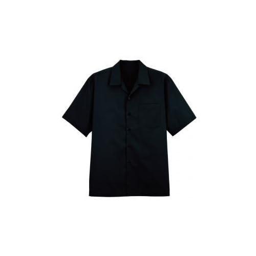 FACEMIX(フェイスミックス) シャツ(半袖無地) 4L ブラック FB575U
