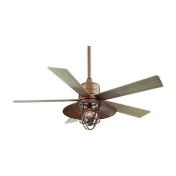 Hampton Bay Metro 54 In. Indoor/outdoor Rustic Copper Ceiling Fan