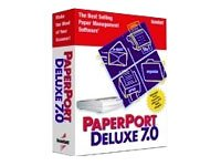 Scansoft Paperport Deluxe - (Version 7.0 ) - Ensemble Complet - 1 Utilisateur - Cd - Win - Anglais