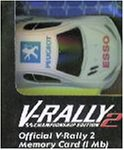 V Rally 2 official Memory Card 1Mb - Playstation