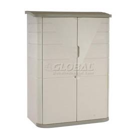Rubbermaid 3746 Deep Large Vertical Storage Shed, 52-inch x 77-inch x 32-inch