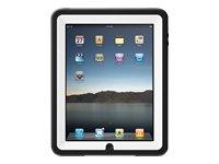 Otterbox APL2-IPAD1-A2-C4OTR iPad Defender Case (White Plastic/Black Silicone)