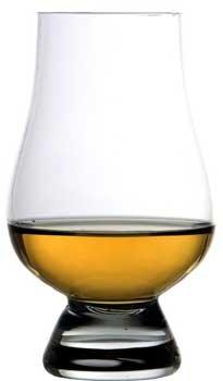 Glencarin Crystal Whiskey Glass, Set of 4