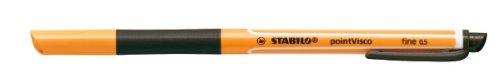 Stabilo pointVisco - Bolígrafo con tinta de gel, negro