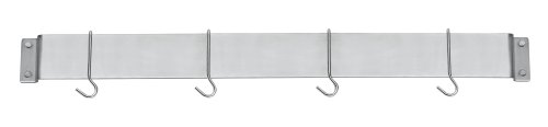 Cuisinart CRBW-33B Chef's Classic 33-Inch Bar-Style Wall-Mount Pot Rack, Brushed Stainless