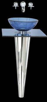 Buy Mini-Glass Pedestal Sink (Renovator's Supply Sinks, Plumbing, Sinks)