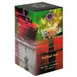 Stash Tea Holiday Teas - Christmas Eve Herbal Tea 18 tea bags (Pack of 2)