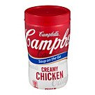 Campbells® Soup At Hand® Cream Of Chicken Soup; 10 Oz., 8/Pk