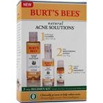 Burts Bees Natural Acne Solutions, Full-Size Regime Kit