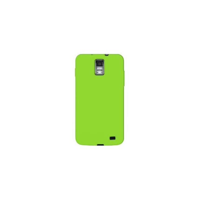 Neon Green Soft Silicone Skin Gel Cover Case for Samsung Galaxy S2 Galaxy S Ii Skyrocket I727 (At&t) + Microfiber Cell Phone Bag Cell Phones & Accessories