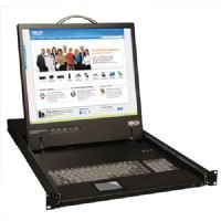 Tripp Lite B021-000-17 KVM Console Unit 1U Rackmount with 17-Inch LCD