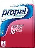 Gatorade Propel Powder Sticks Raspberry Lemonade, 10 - .1 oz Packets, (Pack of 6)
