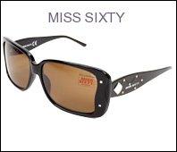 218dKIYsDqL Miss Sixty Sunglasses MX362S 01E Acetate Rhinestones Black