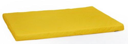 tapis matelas pour chien ibiza m 80cm 60cm coussin jaune w046 02. Black Bedroom Furniture Sets. Home Design Ideas