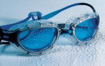 Zoggs Predator blaue Linse