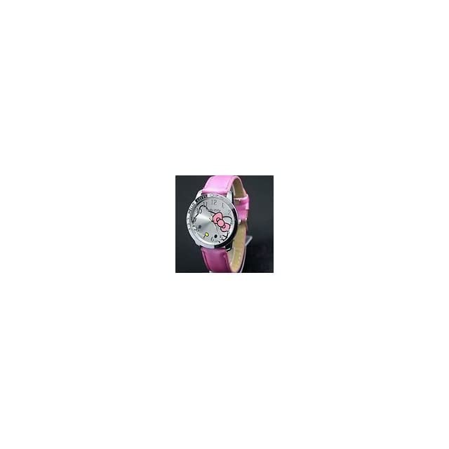 Hello Kitty Large Face Quartz Watch   Pink Band + Pouch ?random? from Y2B