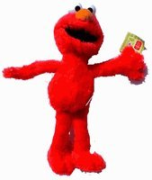 Sesame Street Plush Doll - 19in Elmo Stuffed Animal