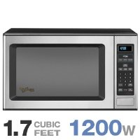 Whirlpool Gold : GT4175SPS 1.7 Cu. Ft. Countertop Microwave Oven 1200 Watts - Stainless Steel