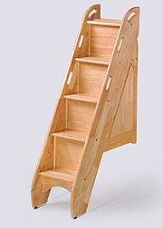 Bunk Beds With Stairs 5871 front