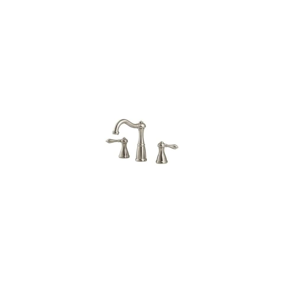 Price Pfister T49 M0BK Marielle 8 Widespread Bathroom Faucet   Brushed Nickel