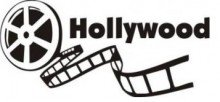 Hollywood Reel Picture Art - Living Room - Peel & Stick Sticker - Vinyl Wall Decal - front-460074