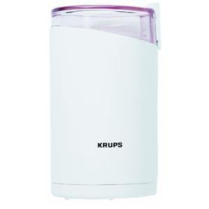 Learn More About KRUPS 203-70 Electric Spice and Coffee Grinder with Stainless Steel Blades, White