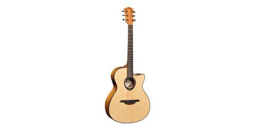 Lag T66Ace Standard Range Auditorium Body Cutaway Acoustic-Electric Guitar