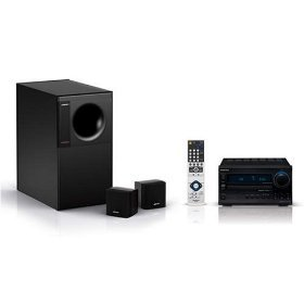 - Bose Acoustimass 3 Series Iv - 2.1-Channel Speaker System And Onkyo Receiver Bundle
