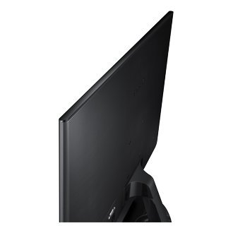 Samsung 18.5 Super Slim LED Monitor with PLS panel 178/178 Full Viewing Angle LS19F350HNWXXL (Black)