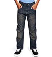 Bow Fit Washed Look Jeans