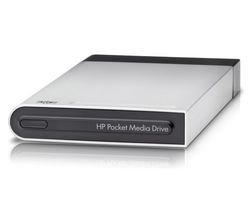 HP HP Pocket Media Drive 320 GB Portable External Hard Drive USB 2.0 2.5-inch portable external hard drive Storage