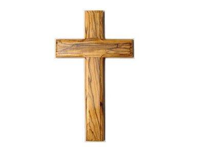Olive Wood Cross 6 Inch