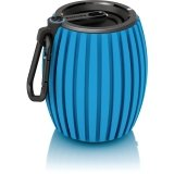 Philips SBT30BLU/27 SoundShooter Blue Wireless Bluetooth Portable Speaker (Blue)