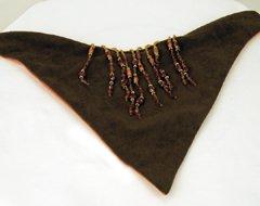 Reversible Tortous Beads Dog Bandana (Medium)