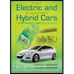 Electric And Hybrid Cars A History By Curtis D. Anderson, Judy Anderson [Mcfarland,2010] [Paperback] 2Nd Edition