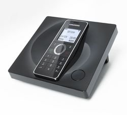 Grundig D780 Schwarz Designtelefon image