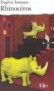 Rhinocéros. Pièce En 3 Actes et 4 Tableaux