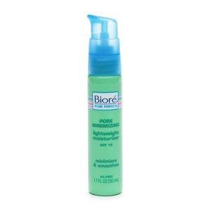 Biore Pore Minimizing Lightweight Moisturizer SPF 15 1.7 FL OZ