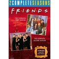 Friends: The Complete First & Second Seasons by Warner Home Video