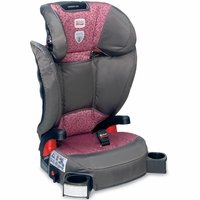 Britax Parkway Sgl Belt Positioning Booster Seat - Cub Pink With Matching Britax Travel Bag front-1038909