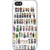 Harry Potter - Characters Chibi iPhone 5/5s Case (Black Rubber)