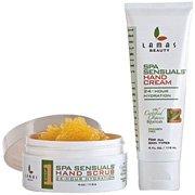 Lamas Beauty Step 1 Spa Sensuals Hand Scrub, 24Hour Hydration, 4Ounce (113g)