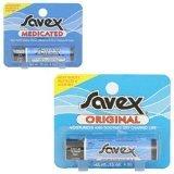 Savex Lip Balm (Stick) Medicated, 0.15oz, 4.2g