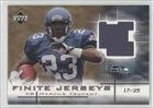 Marcus Trufant #17/25 Seattle Seahawks (Football Card) 2003 Upper Deck Finite Jerseys Gold #FJMT at Amazon.com